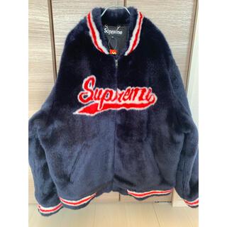 シュプリーム(Supreme)のSupreme Faux Fur Varsity Jacket ファー(毛皮/ファーコート)