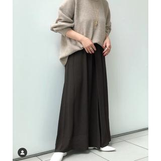 ドゥーズィエムクラス(DEUXIEME CLASSE)のドレープスカート(ロングスカート)