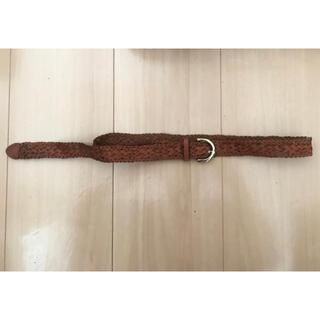 ギャップ(GAP)の*新品未使用 GAP ギャップ 本革ベルト ブラウン 総丈93cm(ベルト)