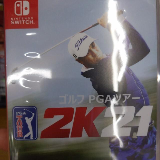 ゴルフ PGAツアー 2K21 Switch エンタメ/ホビーのゲームソフト/ゲーム機本体(家庭用ゲームソフト)の商品写真