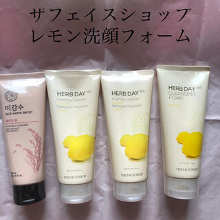 ザフェイスショップ(THE FACE SHOP)のザフェイスショップ  レモン洗顔フォーム(洗顔料)