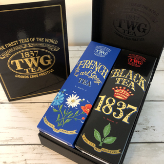 kana様専用 TWG Tea オートクチュール2本セット(茶)
