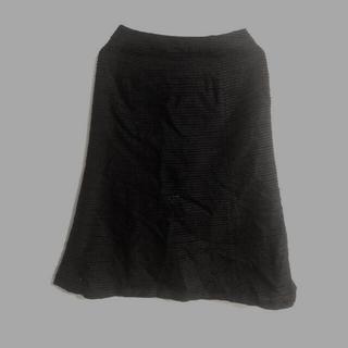 シビラ(Sybilla)のシビラ スカート 黒(ひざ丈スカート)