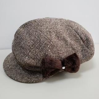 BeBe ツイードキャップ/帽子 サイズ:M(52~54)