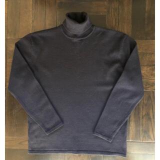 バーニーズニューヨーク(BARNEYS NEW YORK)のBARNEYS NY WOOL100%タートルネックセーター(ニット/セーター)