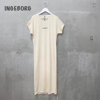 インゲボルグ(INGEBORG)の【INGEBORG】ロングニットワンピース インゲボルグ(ロングワンピース/マキシワンピース)