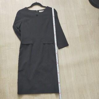 オリヒカ(ORIHICA)の美品💕ORIHICA フォーマルワンピース 7号 ひざ丈(ミディアムドレス)