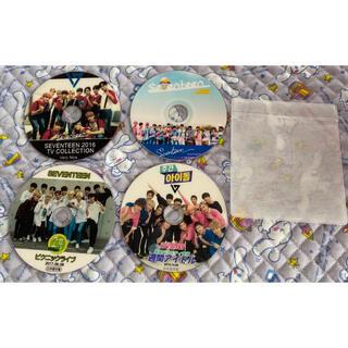 セブンティーン(SEVENTEEN)のSEVENTEEN DVD5枚セット(韓国/アジア映画)