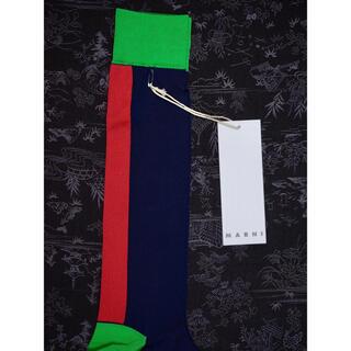 マルニ(Marni)のMarni マルニ ソックス 靴下 レッグウェア ハイソックス レディース(ソックス)