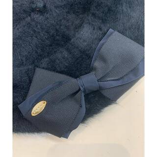 トッカ(TOCCA)のトッカ リボン ロゴ ベレー(ハンチング/ベレー帽)