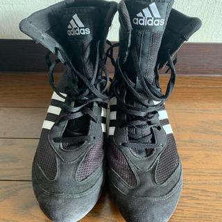 アディダス(adidas)のadidasボクシングシューズ(ボクシング)
