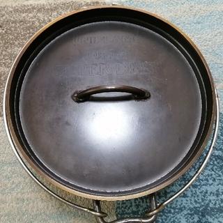 ユニフレーム(UNIFLAME)のユニフレーム ダッチオーブン 10インチ オマケつき(調理器具)