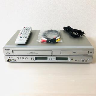 シャープ(SHARP)のSHARP  シャープ VHS DVDプレーヤー(DVDプレーヤー)