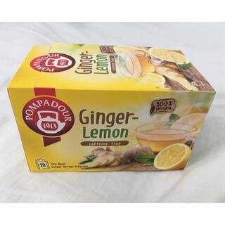 ポンパドール(POMPADOUR)のジンジャー&レモン ハーブティー 19袋(茶)