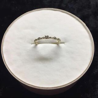 最終sale【cuicui】アミュレットリング  ダイヤ三粒ピンキー1号(リング(指輪))