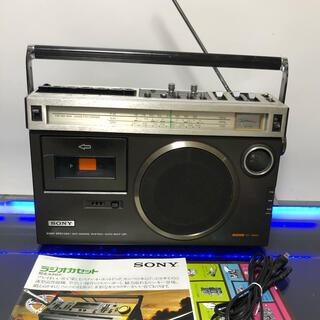 ソニー(SONY)のSONY CF-1980Mark2ラジカセ レトロ中古動作品メンテナンス済み貴重(ラジオ)