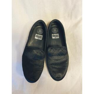フィットフロップ(fitflop)のfitflop ハラコスリッポン(ローファー/革靴)