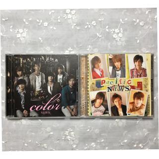 ニュース(NEWS)のNEWS pacific color 初回盤CD2枚セット(ポップス/ロック(邦楽))
