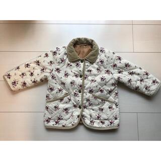 ベルメゾン(ベルメゾン)のキルティングジャケット サイズ90 可愛い小花柄(ジャケット/上着)