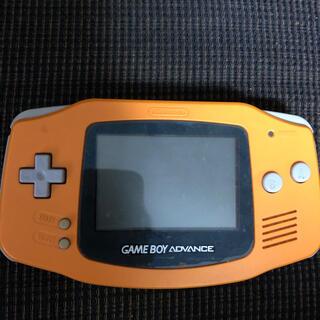 ゲームボーイアドバンス(ゲームボーイアドバンス)のゲームボーイアドバンス オレンジ(携帯用ゲーム機本体)