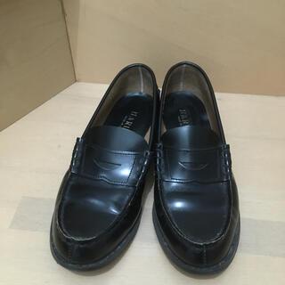 ハルタ(HARUTA)のHARUTA ローファー黒25センチ(ローファー/革靴)