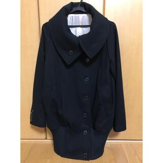 ダブルスタンダードクロージング(DOUBLE STANDARD CLOTHING)のダブルスタンダードクロージング・コクーンコート ブラック 黒 アウター(ピーコート)