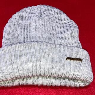 アズールバイマウジー(AZUL by moussy)のニット帽 ニットキャップ(ニット帽/ビーニー)