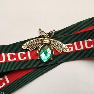 グッチ(Gucci)の蜂ブローチパーツ2個セット(各種パーツ)