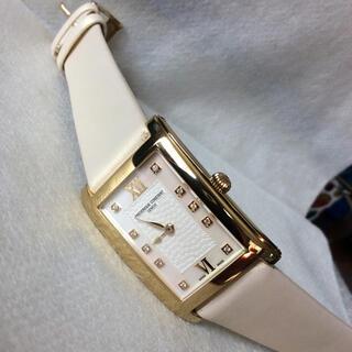 フレデリックコンスタント(FREDERIQUE CONSTANT)の美品‼️フレデリック コンスタント 10Pダイヤ ユニセックス 腕時計(腕時計)
