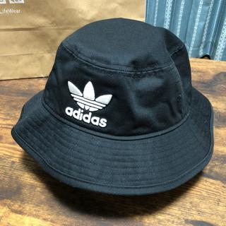 アディダス(adidas)のadidas 帽子 バケットハット(ハット)