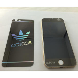 アディダス(adidas)の海外限定アディダス強化ガラスケース4選択(iPhoneケース)