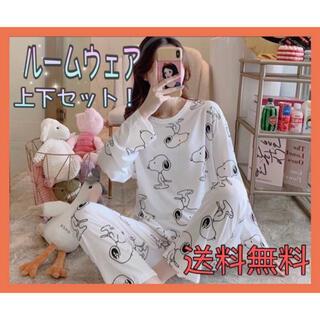 SNOOPY - 新品★送料無料★スヌーピー ルームウェア 上下セット XLサイズ パジャマ 韓国