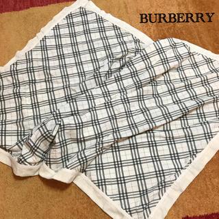 バーバリー(BURBERRY)のBURBERRYコットンブランケット 安心の日本製(おくるみ/ブランケット)