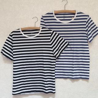 ムジルシリョウヒン(MUJI (無印良品))の無印ボーダーTシャツ