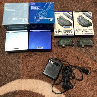 ゲームボーイアドバンス(ゲームボーイアドバンス)のゲームボーイアドバンス SP 本体ソフトセット(携帯用ゲーム機本体)