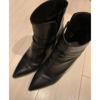トゥモローランド(TOMORROWLAND)のルカグロッシ  ブーツ ブーティー ショートブーツ  サイドゴアブーツ (ブーツ)