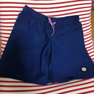 ロキシー(Roxy)のROXY  ボードショーツ ロング丈 M ショートパンツ 新品 紺、ブルー(ショートパンツ)
