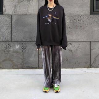バレンシアガ(Balenciaga)のRASHOMONG プリーツ ワイドパンツ velvet(スラックス)