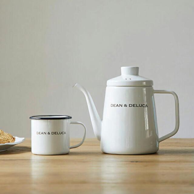DEAN & DELUCA(ディーンアンドデルーカ)のきむにい様専用DEAN&DELUCA ケトル マグカップ コーヒー ギフトセット インテリア/住まい/日用品のキッチン/食器(グラス/カップ)の商品写真