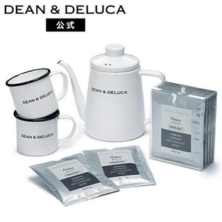 DEAN & DELUCA - 新品 DEAN&DELUCA ホーローケトル マグカップ コーヒー ギフトセット