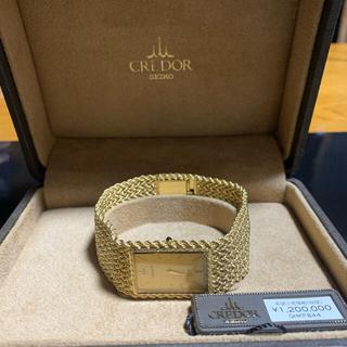 セイコー(SEIKO)のSEIKO CREDOR セイコー クレドール 腕時計 18K(腕時計(アナログ))