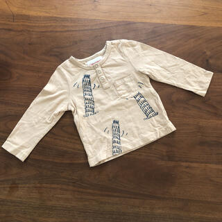 コドモビームス(こども ビームス)のnadadelazos ロングTシャツ 12-18m 758085(シャツ/カットソー)