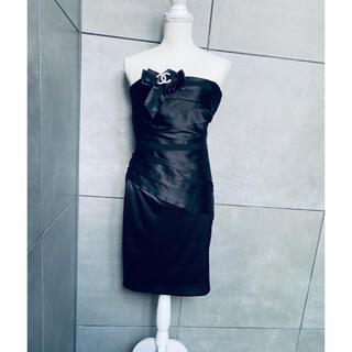black and white パーティードレス 38(ミディアムドレス)