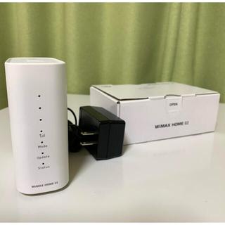 エヌイーシー(NEC)のNEC UQ WiMAX HOME 02(PC周辺機器)