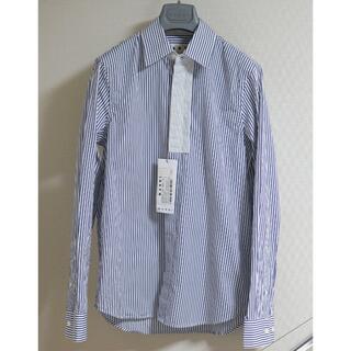 マルニ(Marni)のMARNI フライフロント 前たて切り替え ストライプ オーバサイズシャツ 44(シャツ)