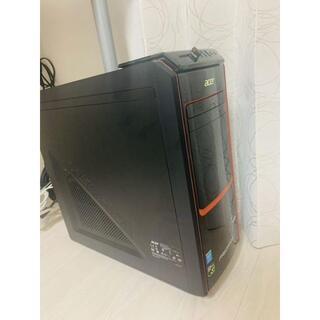 エイサー(Acer)のacer Predator G AG3605-N76F/G(デスクトップ型PC)