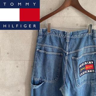 トミーヒルフィガー(TOMMY HILFIGER)のトミースポーツ ペインターパンツ(デニム/ジーンズ)