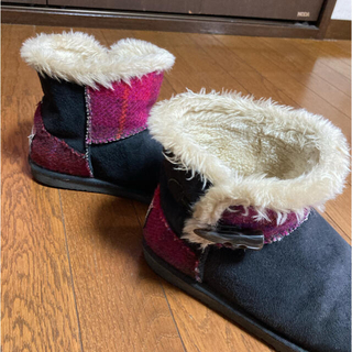 ニコアンド(niko and...)のニコアンド ハリスツィード ブーツ(ブーツ)