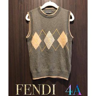 フェンディ(FENDI)の限定セール フェンディ  ベスト 4歳サイズ(ニット)
