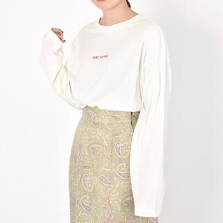 ダブルクローゼット(w closet)のw closetロゴロンT(Tシャツ(長袖/七分))